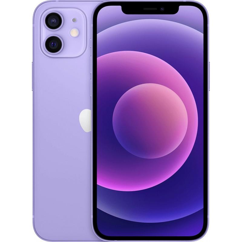 Apple iPhone 12 128GB Purple EU  + Δώρο  Θήκη Προστασίας Και Προστασία Οθόνης